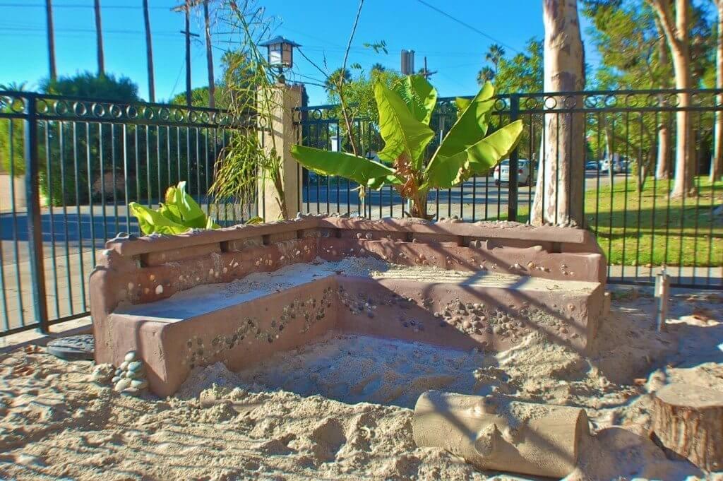 Sand Play Area at La Jolla United Methodist Church