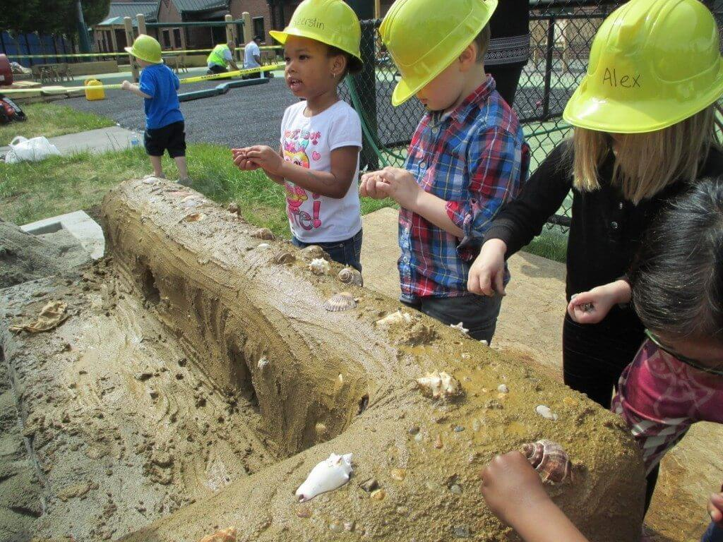 Kids Get Involved in the Construction