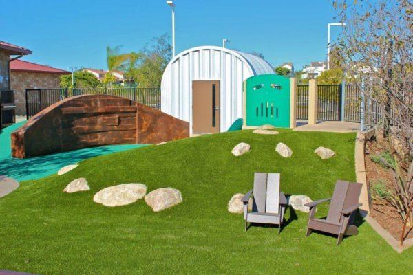 garden relax area
