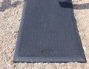 rubber swing mats
