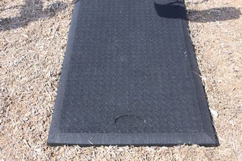 rubber swing mats