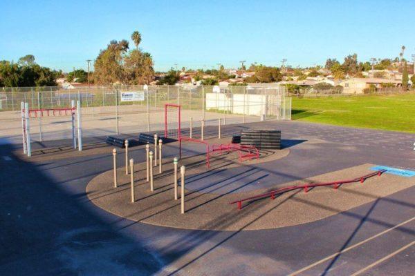 Castle Park Fitness Course 12