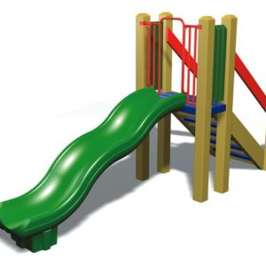 Freestanding Wave Slide