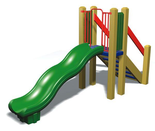 Freestanding Wave Slide