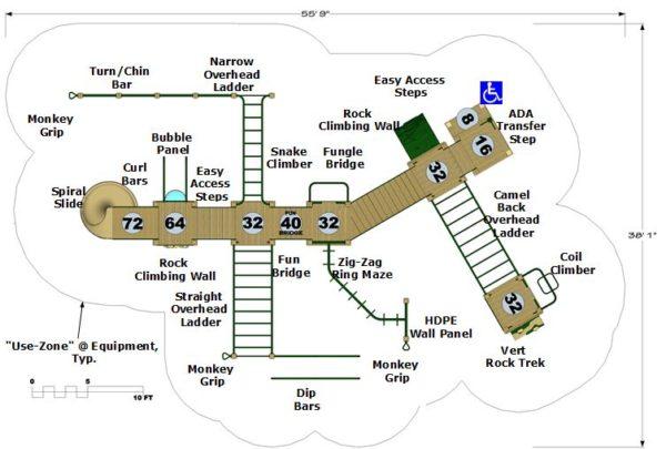 Model Atlantis Plan View
