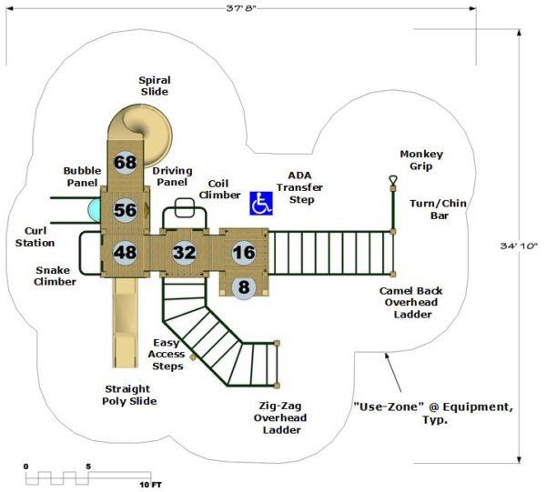Model Ontario Plan View
