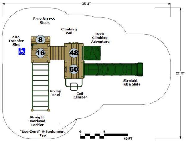 Model Petka Plan View