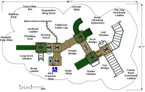 Model Providence Plan View