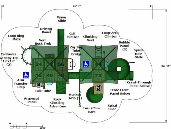 Simpson Plan View