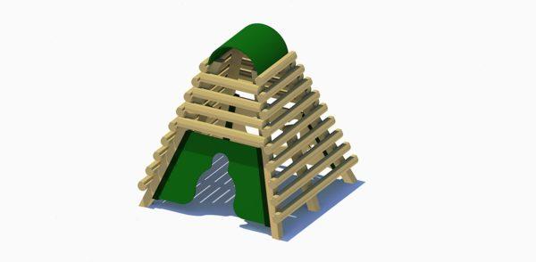 Village Log Fort 1