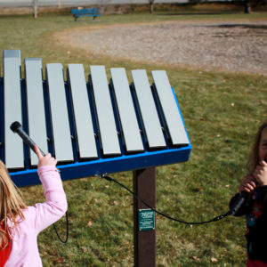 Yantzee - outdoor musical instrument - 7