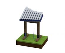 Yantzee - outdoor musical instrument - 3