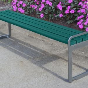 Plaza Bench Without Back