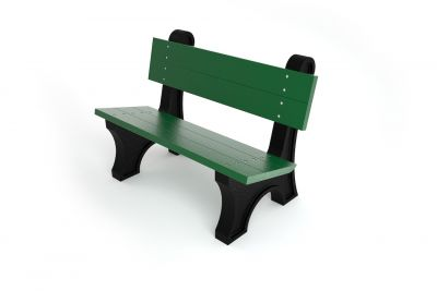 Recycled Plastic Windsor Bench