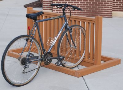 Recycled Plastic Bike Rack